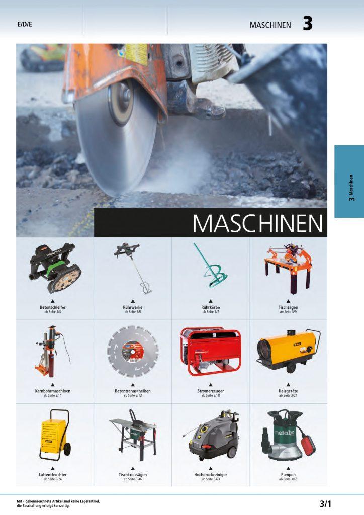 Titelbild Maschinen