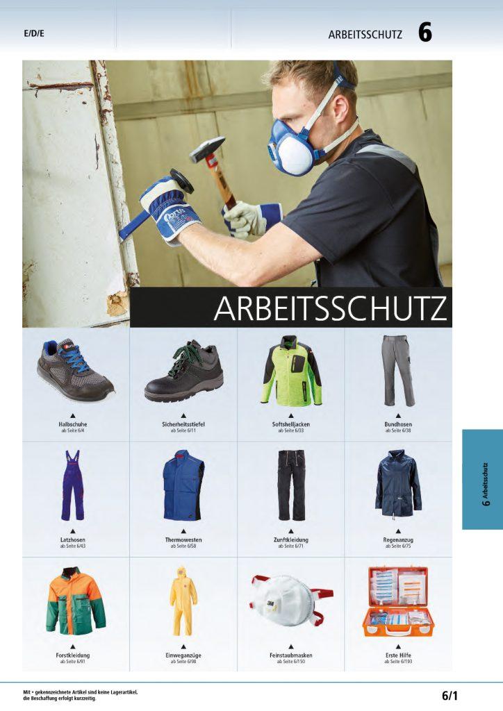 Titelbild Arbeitsschutz
