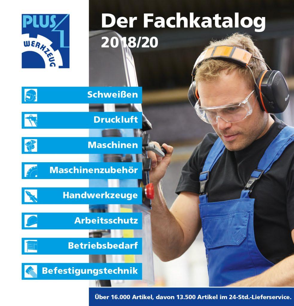Titelbild Katalog PLUS 1 2018-2020